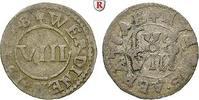 8 Heller 1648 Werden und Helmstedt, Abtei Heinrich IV. Dücker, 1646-166... 54.68 £ 70,00 EUR