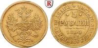 5 Rubel 1865 Russland Alexander II., 1855-1881, Gold, 6,54 g ss, Rdf., ... 836.70 £ 1100,00 EUR  +  7.61 £ shipping