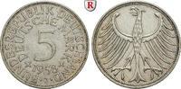 5 DM 1958 J Klein- und Kursmünzen 5 DM 1958, J. Adler. J.387. ss+  281.43 £ 370,00 EUR  +  7.61 £ shipping