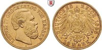 10 Mark 1890 A Hessen Ludwig IV., 1877-1892, 10 Mark 1890, A. Gold. J.2... 1550.28 £ 1900,00 EUR  +  8.16 £ shipping