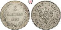 2 Markkaa 1906 Finnland Unter russischer Herrschaft, Nikolaus II., 1894... 51.13 £ 60,00 EUR  +  8.52 £ shipping