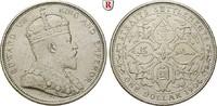 Dollar 1904 Straits Settlements Edward VII., 1901-1910 ss, kl. Rdf.  59.66 £ 70,00 EUR  +  8.52 £ shipping