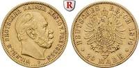 20 Mark 1874 B Preussen Wilhelm I., 1861-1888, 20 Mark 1874, B. Gold. J... 298.28 £ 350,00 EUR  +  8.52 £ shipping
