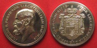 Liechtenstein - Medaillen  1975 PP LIECHTE...