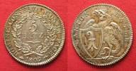 1809 Schweiz - Basel Swiss BASEL 5 Batzen 1809 silver UNC!!! # 14193 unz  171.61 £ 199,99 EUR  +  5.58 £ shipping