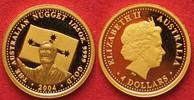 2004 Australien 1/25 oz Gold AUSTRALIA 4 Dollars 2004 AUSTRALIAN NUGGE... 77.22 £ 89,99 EUR  +  4.29 £ shipping