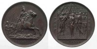 Polen - Medaillen  1894 f.unz 100 YEARS of BATTLE by RACLAWICE 1894 bron... 121.47 £