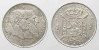 Belgien  1880 st BELGIUM 1 Franc 1880 50th ANN. OF INDEPENDENCE silver U... 108.45 £