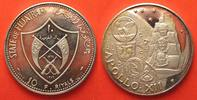 1970 Fudschairah FUJAIRAH 10 Riyals 1970 APOLLO XII MOON silver Proof ... 148.62 £ 189,99 EUR  +  5.08 £ shipping