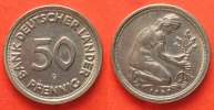 Deutschland - Bundesrepublik  1949 f.st Germany FEDERAL REPUBLIC 50 Pfen... 13.01 £