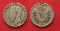 1887 Belgisch Kongo BELGIAN CONGO 1 Franc 1887 LEOPOLD II silver VF SC... 70.40 £ 89,99 EUR  +  3.91 £ shipping