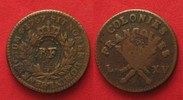 1793 Guadeloupe GUADELOUPE 3 Sols 9 Deniers (1/4 Escalin) 1793 copper ... 75.92 £ 89,99 EUR  +  4.22 £ shipping