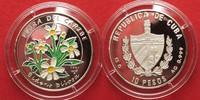 1997 Kuba CUBA 10 Pesos 1997 BIDENS BILOSA CARIBBEAN FLORA silver COLO... 19.55 £24,99 EUR13.68 £ 17,49 EUR  +  3.91 £ shipping
