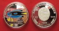 1996 Nordkorea NORTH KOREA 500 Won 1996 Paracanthurus FISHES silver 1 ... 64.35 £ 74,99 EUR  +  4.29 £ shipping