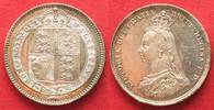 1887 England GREAT BRITAIN Shilling 1887 VICTORIA silver PROOF !!! # 9... 97.77 £ 124,99 EUR  +  5.08 £ shipping