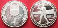 1992 Griechenland GREECE 1 Ounce silver 1992 Olympics Centennial BARCE... 42.90 £49,99 EUR25.74 £ 29,99 EUR  +  4.29 £ shipping