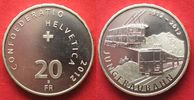 2012 Schweiz SWITZERLAND 20 Francs 2012 JUNGFRAUBAHN silver Proof # 93... 38.05 £ 49,99 EUR  +  3.81 £ shipping