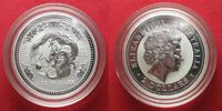 2000 Australien 2 oz pure silver YEAR OF THE DRAGON 2 Dollars 2000 BU ... 120.93 £ 144,99 EUR  +  5.42 £ shipping