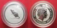 2007 Australien 2 oz pure silver YEAR OF THE RAT 2008 Dollars 2007 BU ... 130.76 £154,99 EUR105.45 £ 124,99 EUR  +  5.48 £ shipping