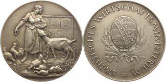 Hörnlein, F.W. Silbermedaille  Selten, mat...