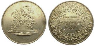 Bronzemedaille 1865 Köln, Stadt  Vorzüglic...