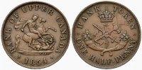 Halfpenny 1854 KANADA   Sehr schön  12.74 £ 15,00 EUR  +  6.79 £ shipping