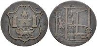 Halfpenny-Token 1792 NORWICH  Schön  16.73 £ 20,00 EUR  +  6.69 £ shipping