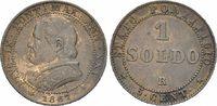 Soldo 1867 VATIKAN  Sehr schön  12.55 £ 15,00 EUR  +  6.69 £ shipping