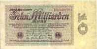 Reichsbanknote. 1923 DEUTSCHLAND 10 Milliarden Mark. III  8.36 £ 10,00 EUR  +  6.69 £ shipping