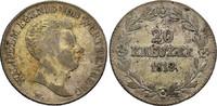 20 Kreuzer 1818 WÜRTTEMBERG Wilhelm I. Fast sehr schön  47.18 £ 60,00 EUR