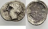 AR Obol ca. 90-49 v . C GALLIEN MASSILIA Knapp sehr schön  23.59 £ 30,00 EUR