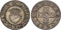 Kreuzer 1830 SCHWEIZ SOLOTHURN Sehr schön-vorzüglich  23.59 £ 30,00 EUR