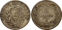 5 Batzen 1814 SCHWEIZ ST. GALLEN Schön-sehr schön  23.59 £ 30,00 EUR