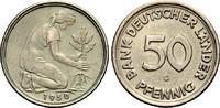 50 Pfennig 1950 G BANK DEUTSCHER LÄNDER  Sehr schön  141.55 £ 180,00 EUR