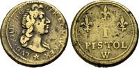 Passiergewicht 1643-1715 FRANKREICH  Schön-sehr schön  31.46 £ 40,00 EUR