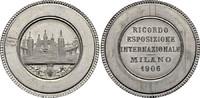 Alu-Medaille 1906 MAILAND Weltausstellung Vorzüglich  47.18 £ 60,00 EUR