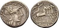 AR Denar 132 v. Chr. ROM, REPUBLIK M. ABURIUS GEM. Gutes sehr schön  140.81 £ 180,00 EUR  +  6.26 £ shipping