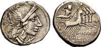 AR Denar 122 v. Chr. RÖMISCHE REPUBLIK M. CARBO Sehr schön  101.69 £ 130,00 EUR  +  6.26 £ shipping
