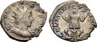 Antoninian 257-258 ROM, KAISERZEIT GALLIENUS: GERMANICVS MAX V Knapp se... 46.94 £ 60,00 EUR  +  6.26 £ shipping