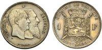 Franc 1880 BELGIEN zum 50jährigen Bestehen des Staates Sehr schön-vorzü... 27.38 £ 35,00 EUR  +  6.26 £ shipping