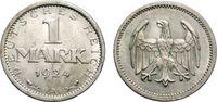 1 Mark 1924 A WEIMARER REPUBLIK  Sehr schön-vorzüglich  16.32 £ 20,00 EUR  +  6.53 £ shipping