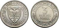 3 Reichsmark 1926 A WEIMARER REPUBLIK 700 Jahre Reichsfreiheit von Lübe... 83.41 £ 100,00 EUR  +  6.67 £ shipping