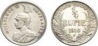 1/4 Rupie 1910 OSTAFRIKA  Sehr schön  33.36 £ 40,00 EUR  +  6.67 £ shipping
