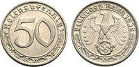 50 Pfennig 1938 B III. Reich  Sehr schön  41.70 £ 50,00 EUR  +  6.67 £ shipping