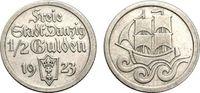 1/2 Gulden 1923 DANZIG  Sehr schön  33.36 £ 40,00 EUR  +  6.67 £ shipping