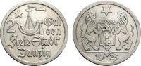 2 Gulden 1923 DANZIG  Sehr schön  97.91 £ 120,00 EUR  +  6.53 £ shipping