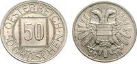50 Groschen 1934 ÖSTERREICH sogenannter Nachtschilling Vorzüglich-Stemp... 33.36 £ 40,00 EUR  +  6.67 £ shipping