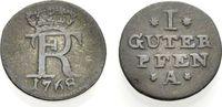 Guter Pfennig 1768 A PREUSSEN  Sehr schön  16.68 £ 20,00 EUR  +  6.67 £ shipping