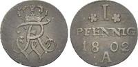 Pfennig 1802 PREUSSEN  Sehr schön  16.68 £ 20,00 EUR  +  6.67 £ shipping