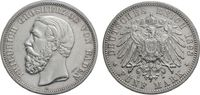 5 Mark 1898 BADEN  Sehr schön  66.72 £ 80,00 EUR  +  6.67 £ shipping